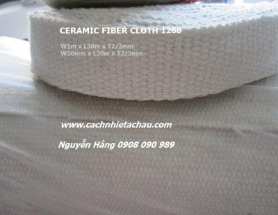 Ceramic Fiber Cloth – Vải ceramic dạng bảng 50mm dày 2/3mm employee photograph